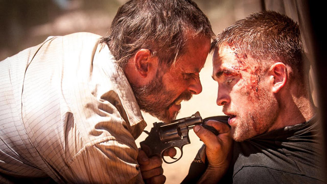 Robert Pattinson and Guy Pearce in The Rover